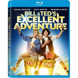 Bill & Ted's Excellent Adventure Blu-ray Cover