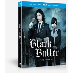 Black Butler: The Movie Blu-ray Cover