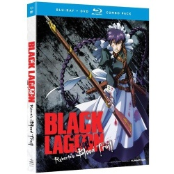 Black Lagoon: Roberta's Blood Trail Blu-ray Cover