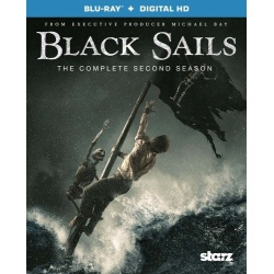 Black Sails: The Complete 2nd Season Blu-ray Cover