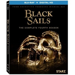 Black Sails: The Complete 4th Season Blu-ray Cover