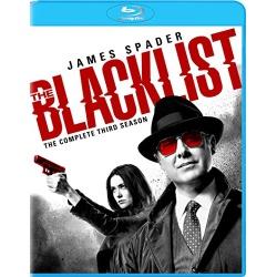 Blacklist: The Complete 3rd Season Blu-ray Cover