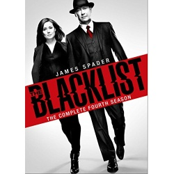 Blacklist: The Complete 4th Season Blu-ray Cover
