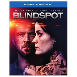 Blindspot: The Complete 1st Season Blu-ray Cover