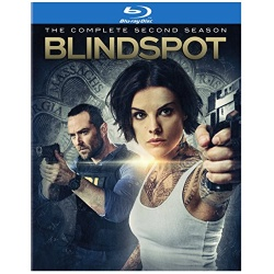 Blindspot: The Complete 2nd Season Blu-ray Cover