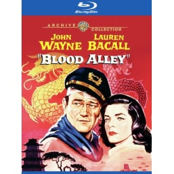 Blood Alley Blu-ray Cover