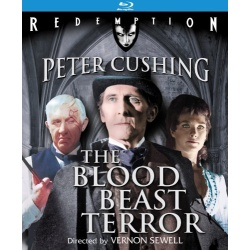 Blood Beast Terror Blu-ray Cover