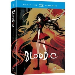 Blood-C: The Complete Series Blu-ray Cover
