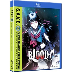 Blood-C: The Last Dark Blu-ray Cover