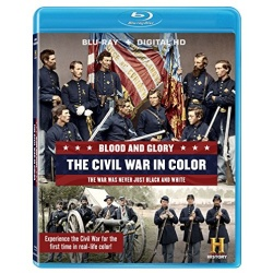 Blood and Glory: The Civil War in Color Blu-ray Cover