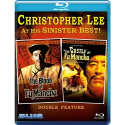 Blood of Fu Manchu / The Castle of Fu Manchu Blu-ray Cover