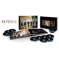 Bond 50: Celebrating Five Decades of Bond Blu-ray Cover