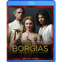 Borgias: The 3rd Season Blu-ray Cover
