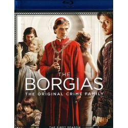 Borgias: The First Season Blu-ray Cover
