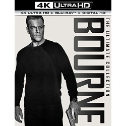Bourne Ultimate Collection Blu-ray Cover