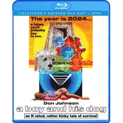 Boy and His Dog Blu-ray Cover