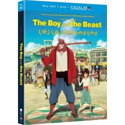Boy and the Beast Blu-ray Cover