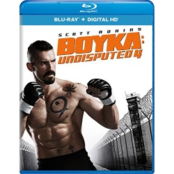 Boyka: Undisputed 4 Blu-ray Cover