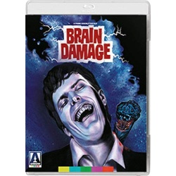 Brain Damage Blu-ray Cover