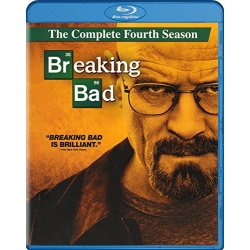 Breaking Bad: The Complete Fourth Season Blu-ray Cover