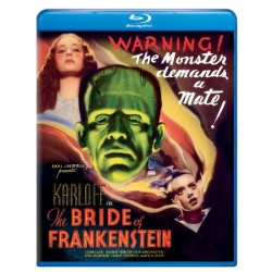 Bride of Frankenstein Blu-ray Cover
