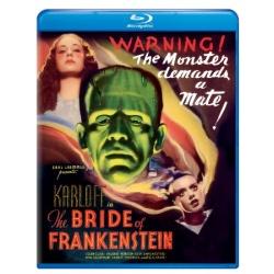 Bride of Frankenstein Blu-ray Cover