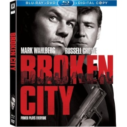 Broken City Blu-ray Cover