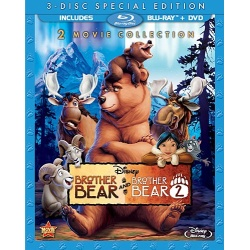 Brother Bear: 2 Movie Collection Blu-ray Cover