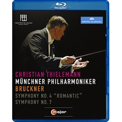Bruckner: Symphonies Nos 4 & 7 Blu-ray Cover