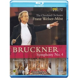 Bruckner: Symphony No. 4 Blu-ray Cover