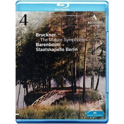 Bruckner: The Mature Symphonies - Symphony 4 Blu-ray Cover