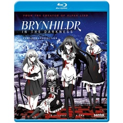 Brynhildr in the Darkness: Complete Collection Blu-ray Cover