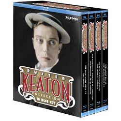 Buster Keaton Collection Blu-ray Cover