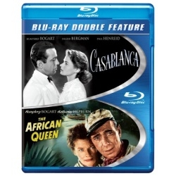 Casablanca / African Queen Blu-ray Cover