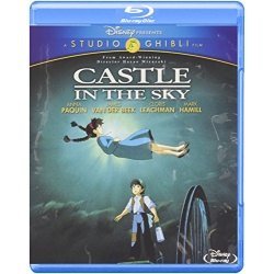 Castle in the Sky Blu-ray Cover