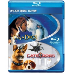 Cats & Dogs / Cats & Dogs: The Revenge of Kitty Galore Blu-ray Cover