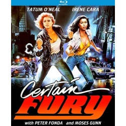 Certain Fury Blu-ray Cover