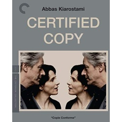 Certified Copy Blu-ray Cover