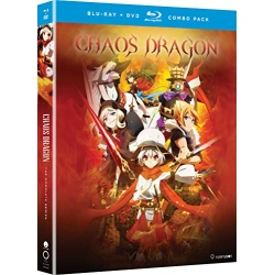Chaos Dragon: The Complete Series Blu-ray Cover