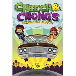 Cheech & Chong's Animated Movie Blu-ray Cover
