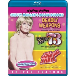 Chesty Morgan's Bosom Buddies Blu-ray Cover
