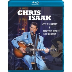 Chris Isaak: Live in Concert / Greatest Hits Live Concert Blu-ray Cover
