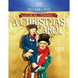 Christmas Carol Blu-ray Cover