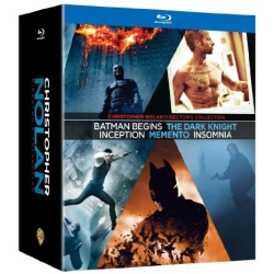 Christopher Nolan Director's Collection Blu-ray Cover