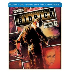Chronicles of Riddick Blu-ray Cover