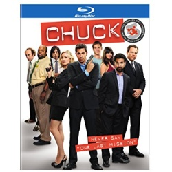 Chuck: The Complete Fifth Season Blu-ray Cover