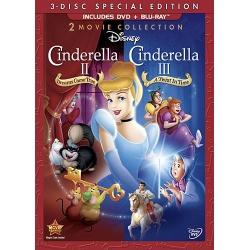 Cinderella II / Cinderella III Blu-ray Cover