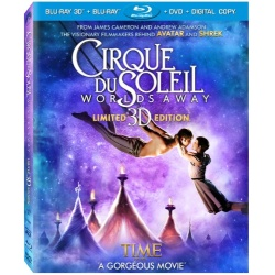 Cirque du Soleil: Worlds Away Blu-ray Cover