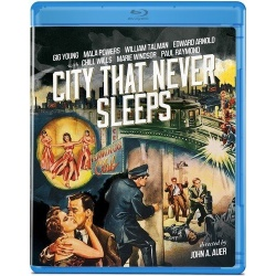 City That Never Sleeps Blu-ray Cover