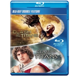 Clash of the Titans / Clash of the Titans Blu-ray Cover
